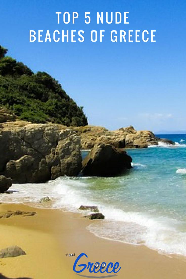 Top 5 Nude Beaches Of Greece Pin 1 Looknwalk Greece